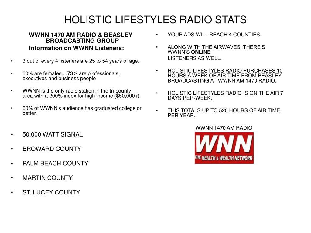 WWNN 1470 AM RADIO & BEASLEY