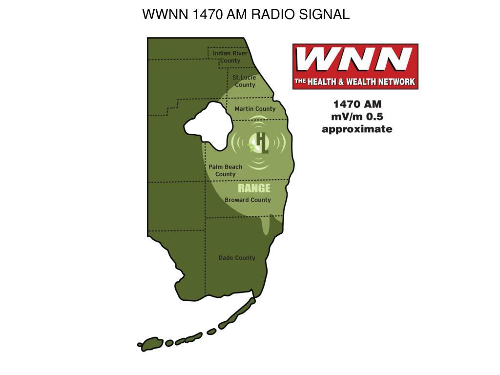 WWNN 1470 AM RADIO SIGNAL