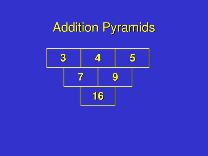 Addition pyramids l.jpg