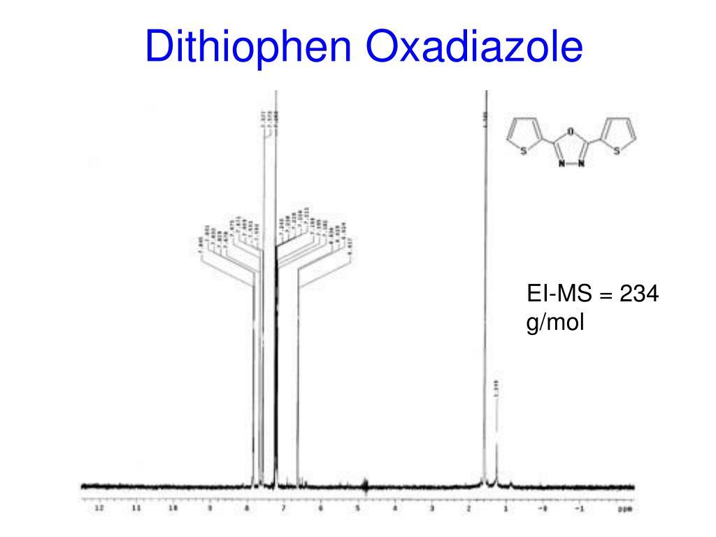Dithiophen Oxadiazole