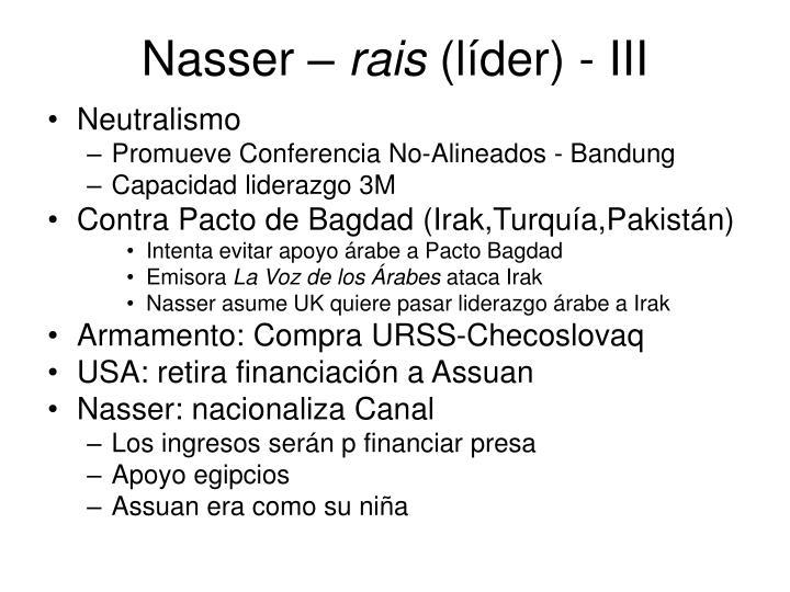 Nasser –