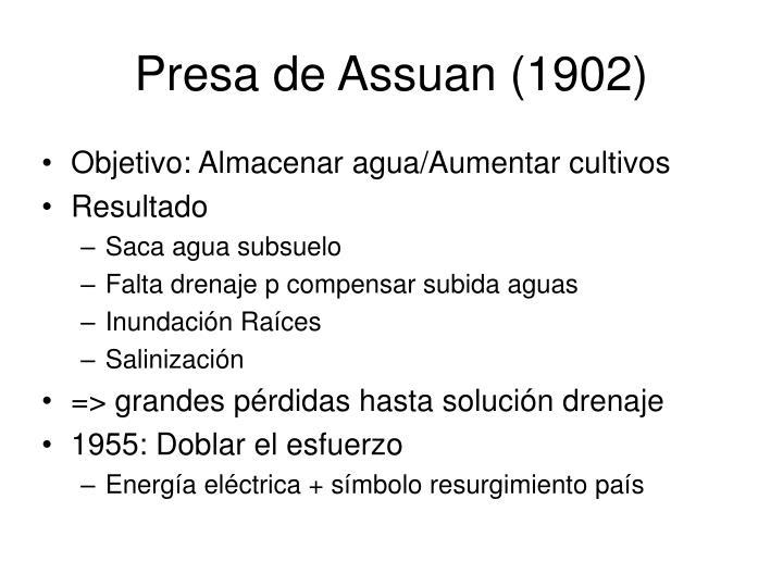 Presa de Assuan (1902)