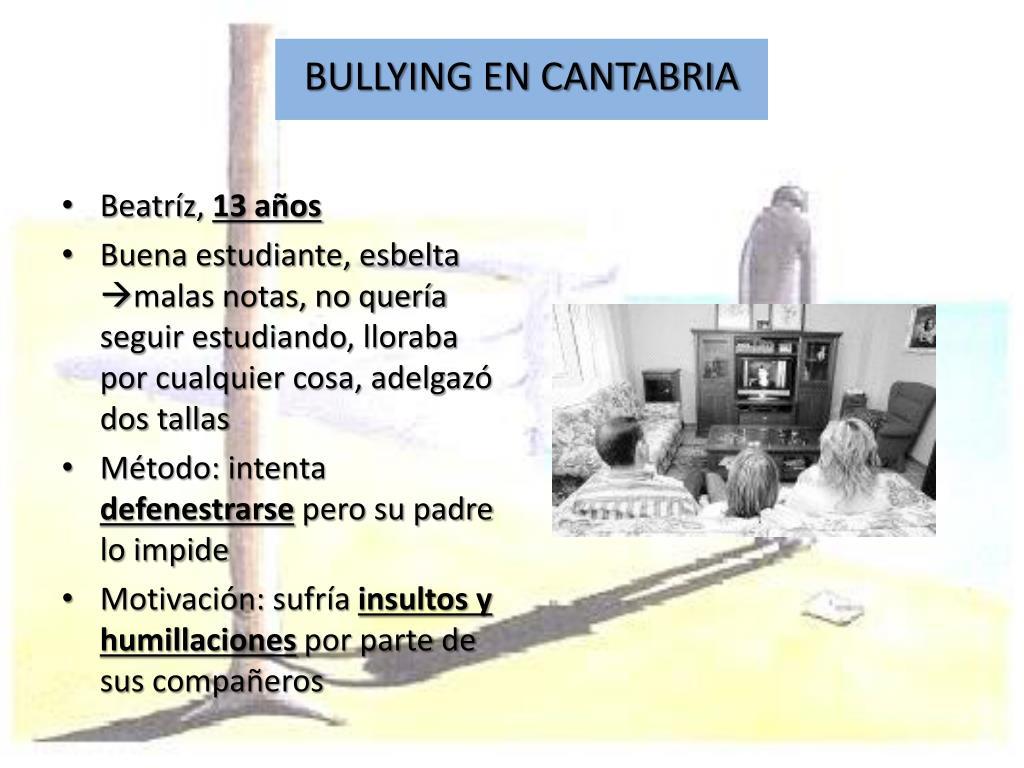 BULLYING EN CANTABRIA