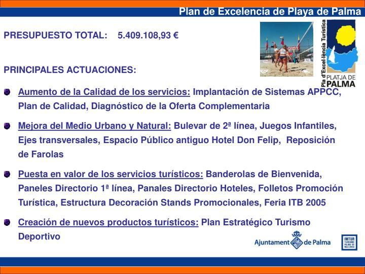 Plan de Excelencia de Playa de Palma