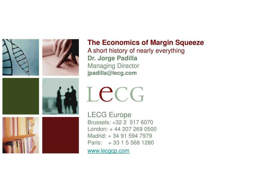 The Economics of Margin Squeeze