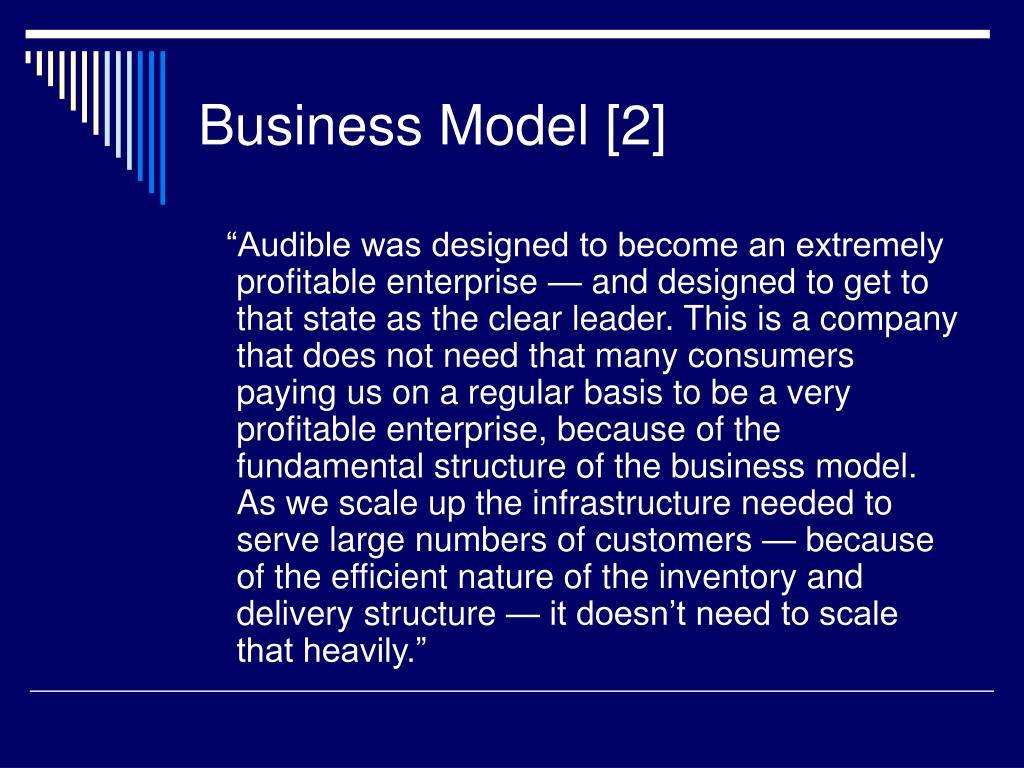 Business Model [2]