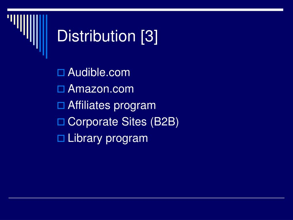 Distribution [3]