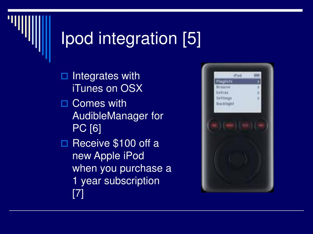 Ipod integration [5]