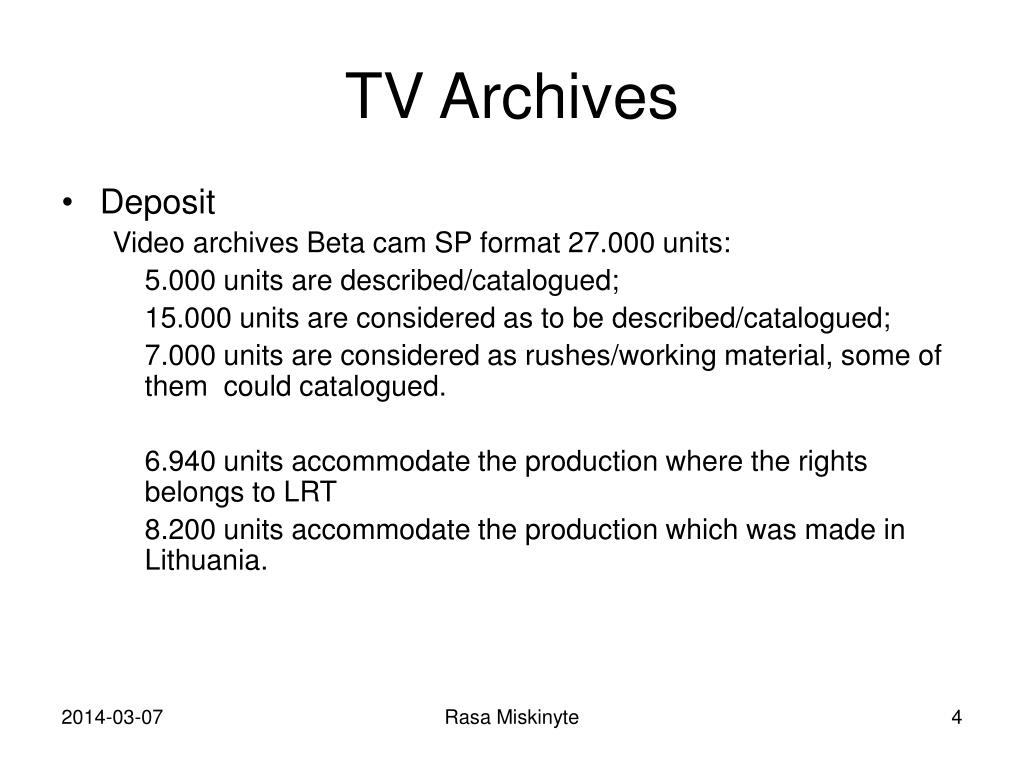 TV Archives