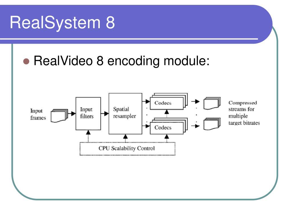 RealSystem 8