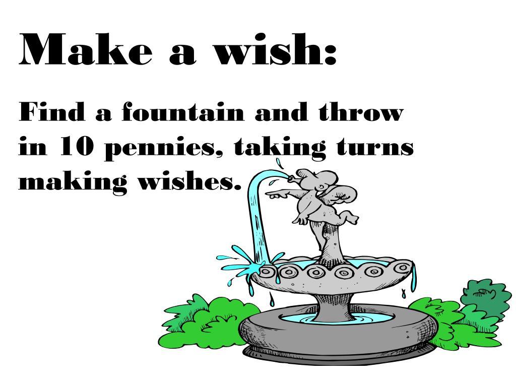 Make a wish: