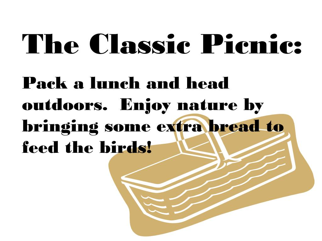 The Classic Picnic: