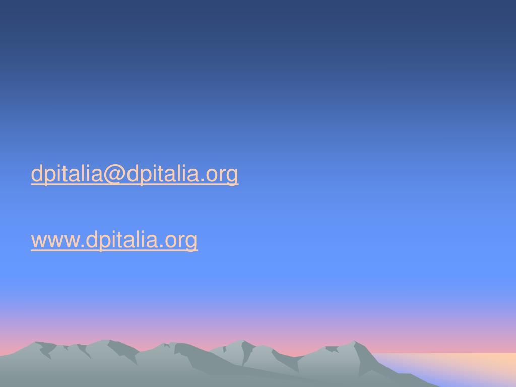 dpitalia@dpitalia.org