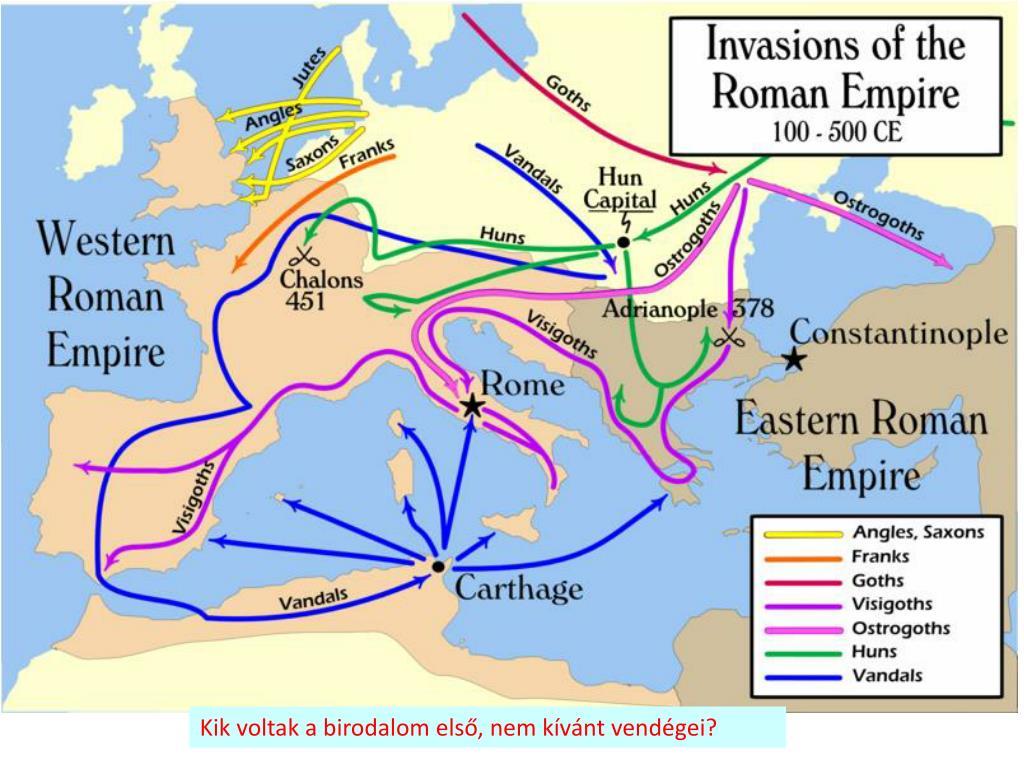 Kik voltak a birodalom első, nem kívánt vendégei?