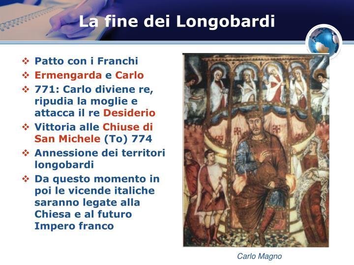La fine dei Longobardi