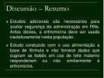 discuss o resumo33