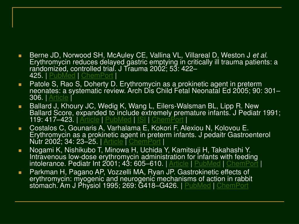 Berne JD, Norwood SH, McAuley CE, Vallina VL, Villareal D, Weston J