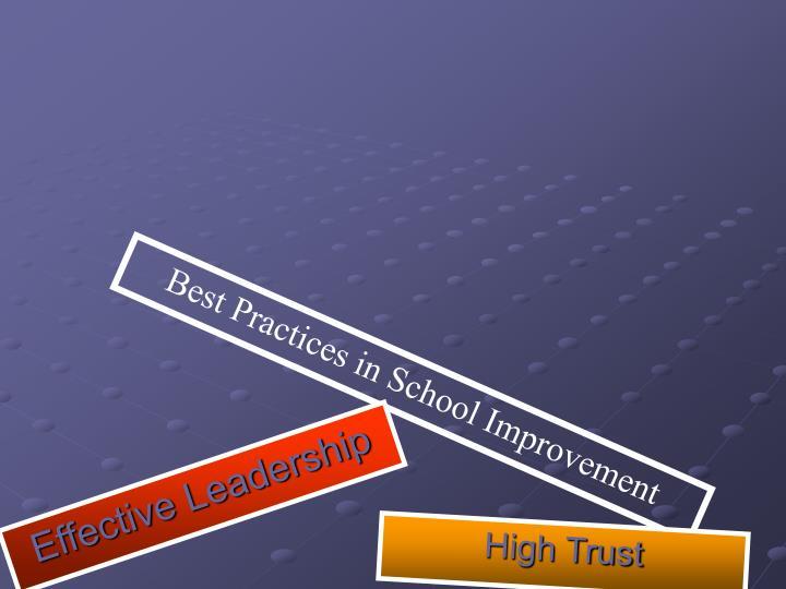 High Trust