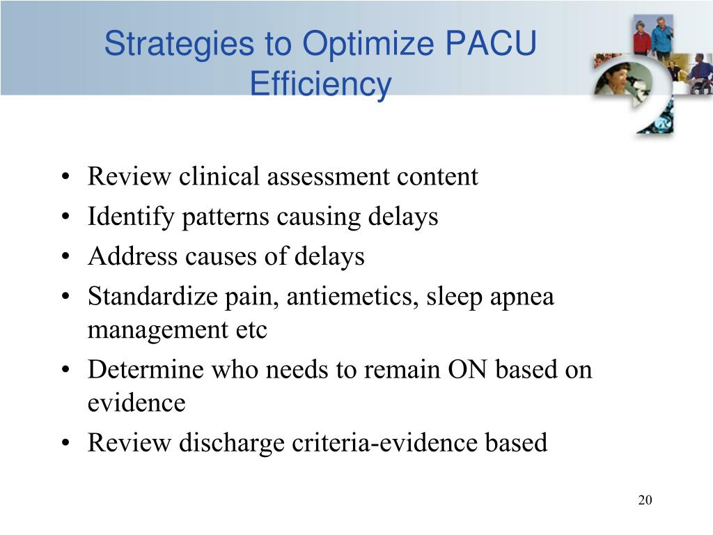 Strategies to Optimize PACU Efficiency
