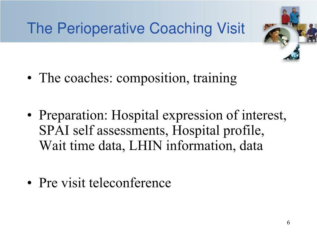 The Perioperative Coaching Visit