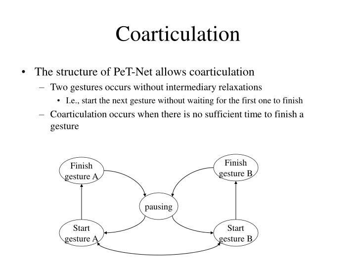 Coarticulation