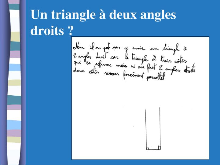 Ppt enseigner la g om trie l cole l mentaire et - Assembler deux planches angle droit ...