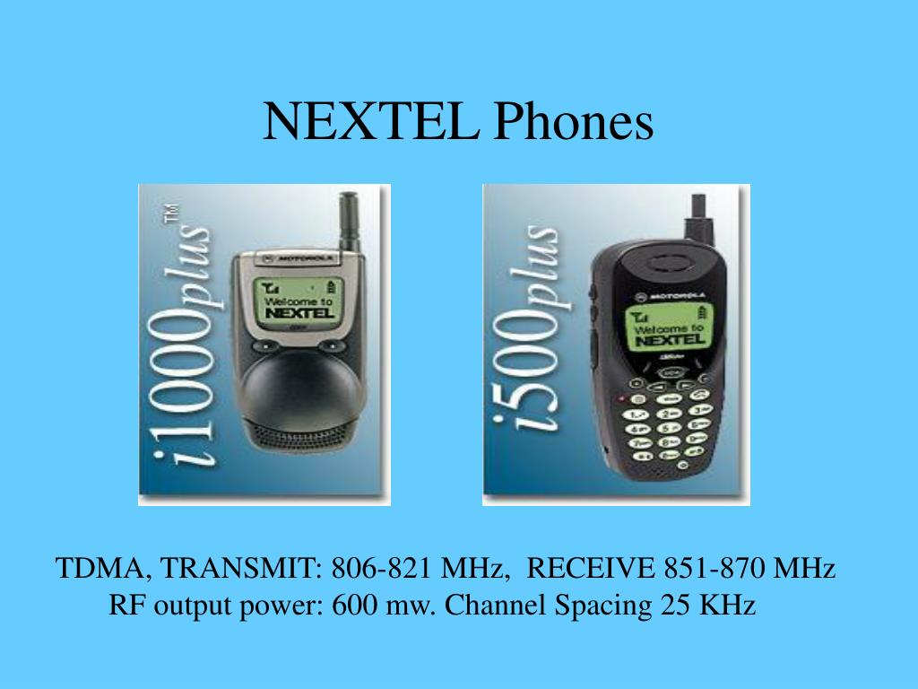 NEXTEL Phones
