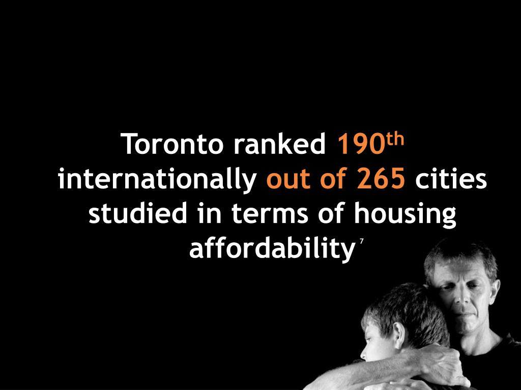 Toronto ranked