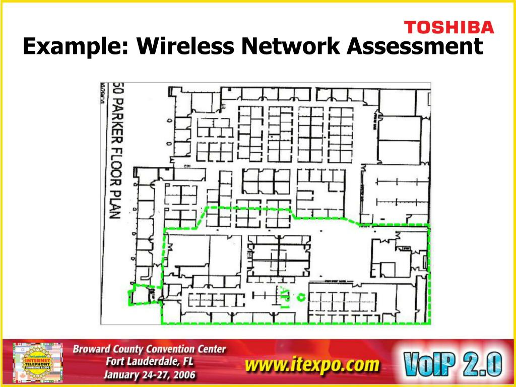 Example: Wireless Network Assessment