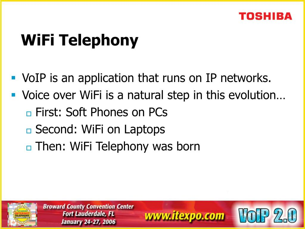 WiFi Telephony