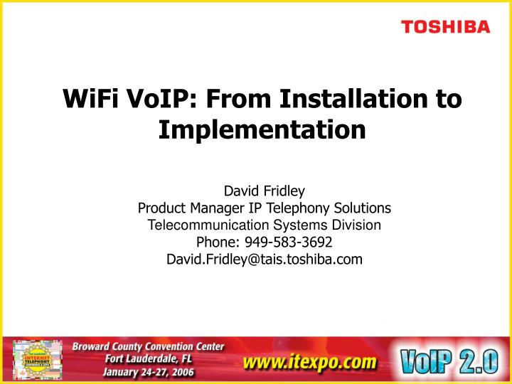 Wifi voip from installation to implementation l.jpg