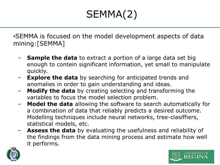 SEMMA(2)