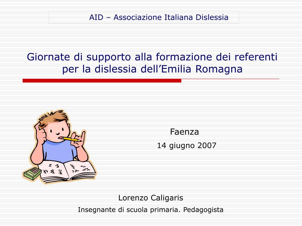AID – Associazione Italiana Dislessia