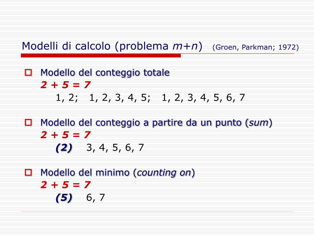 Modelli di calcolo (problema