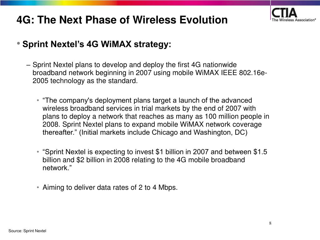 4G: The Next Phase of Wireless Evolution