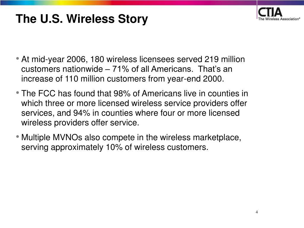 The U.S. Wireless Story