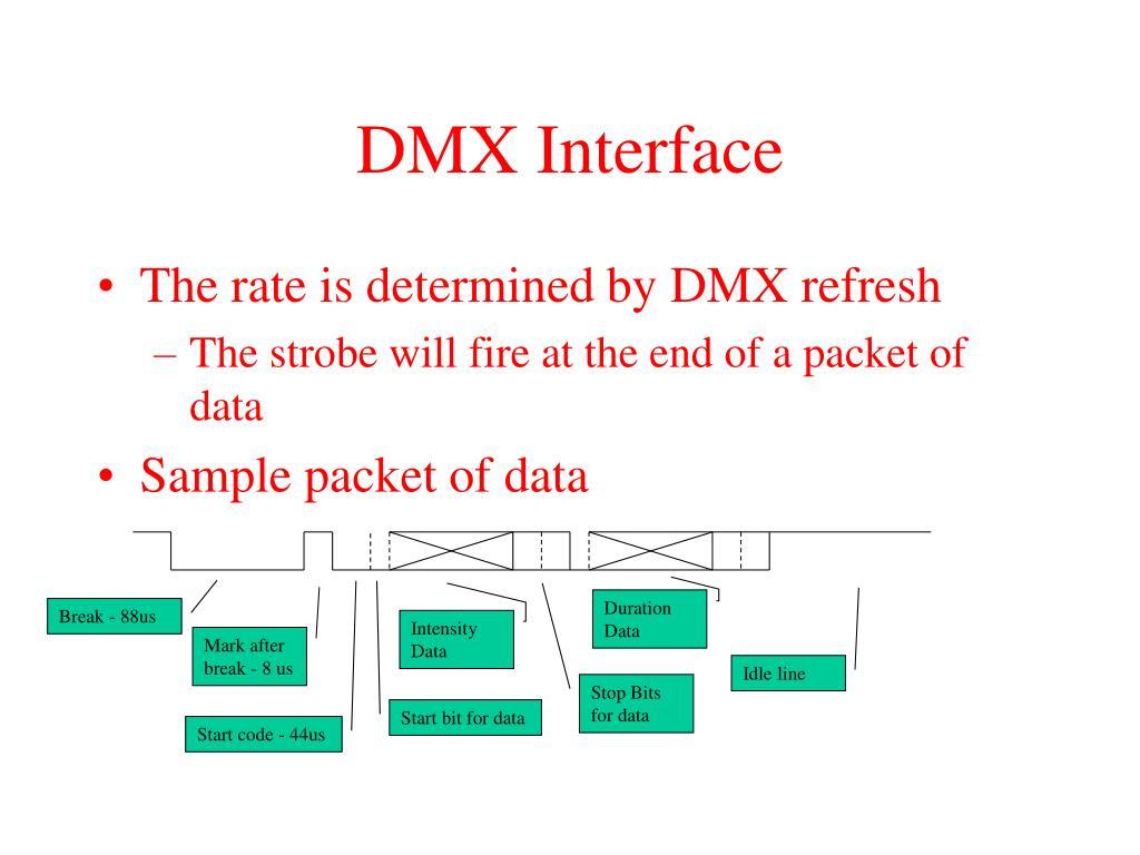 DMX Interface