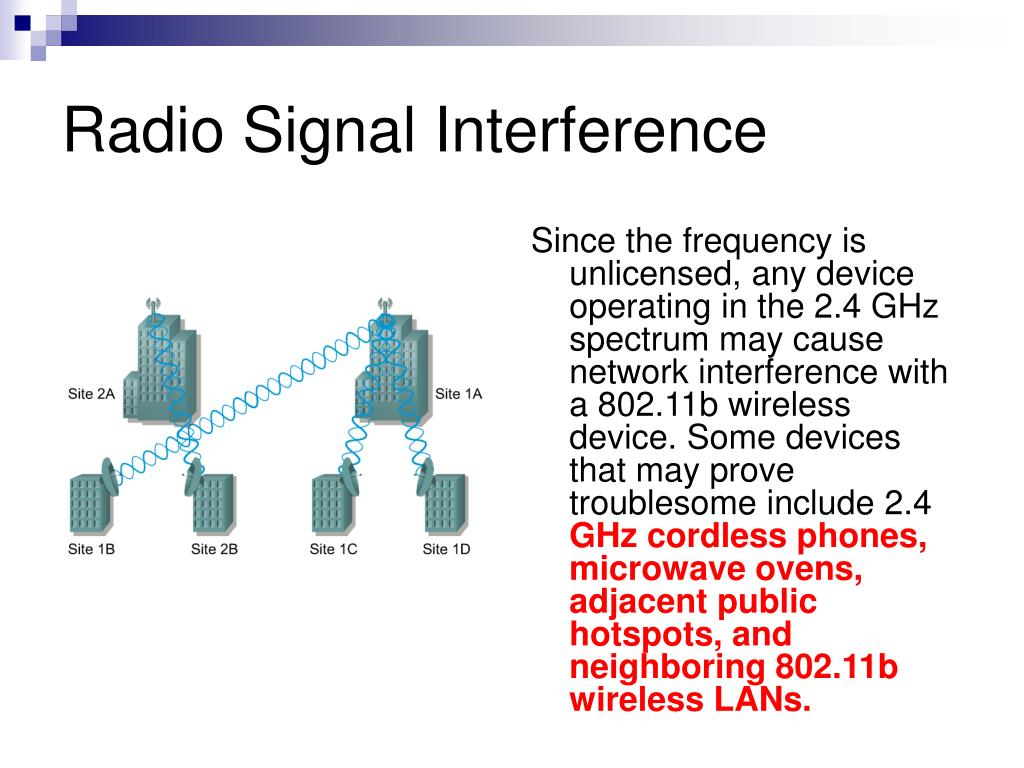 Radio Signal Interference