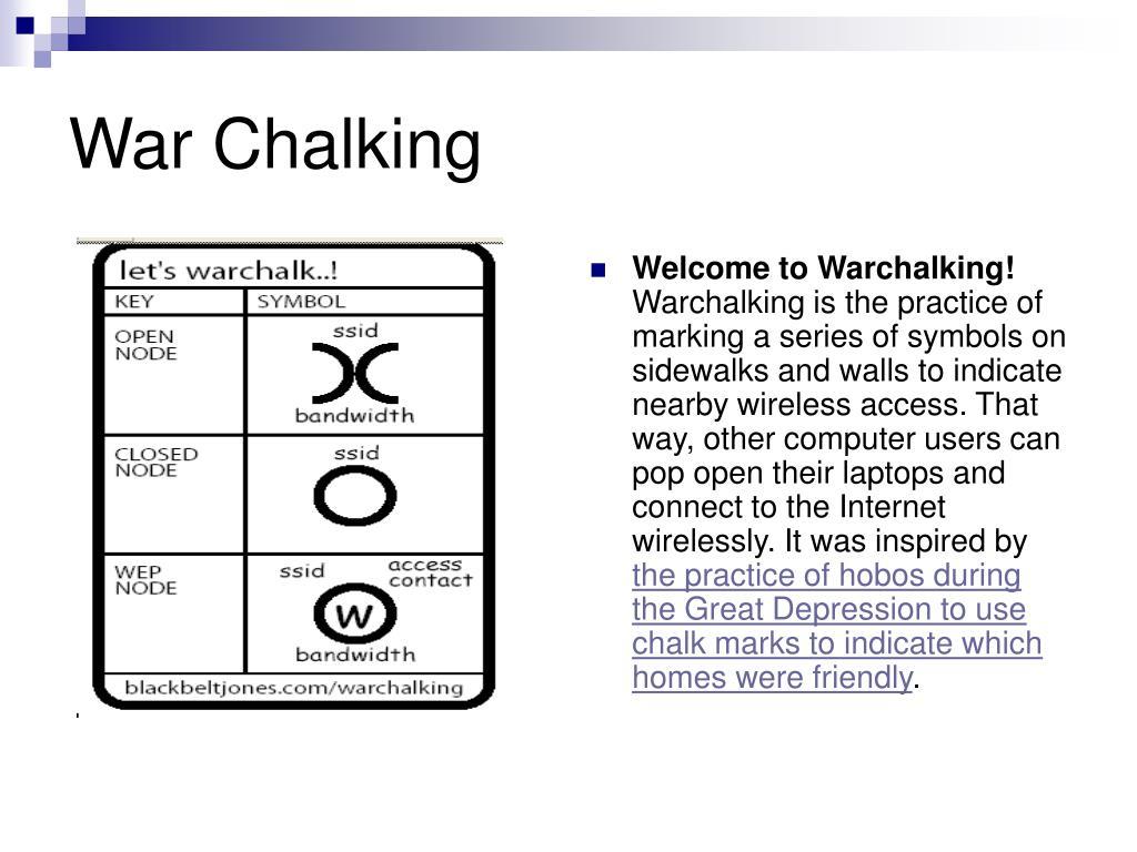 War Chalking