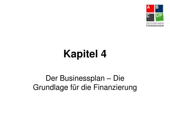 Kapitel 4