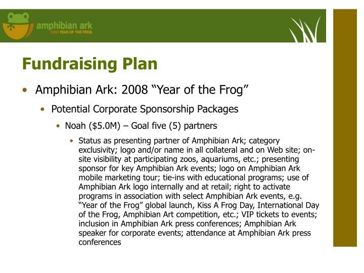 Fundraising Plan
