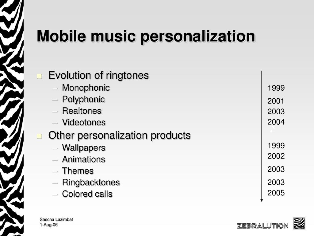Mobile music personalization