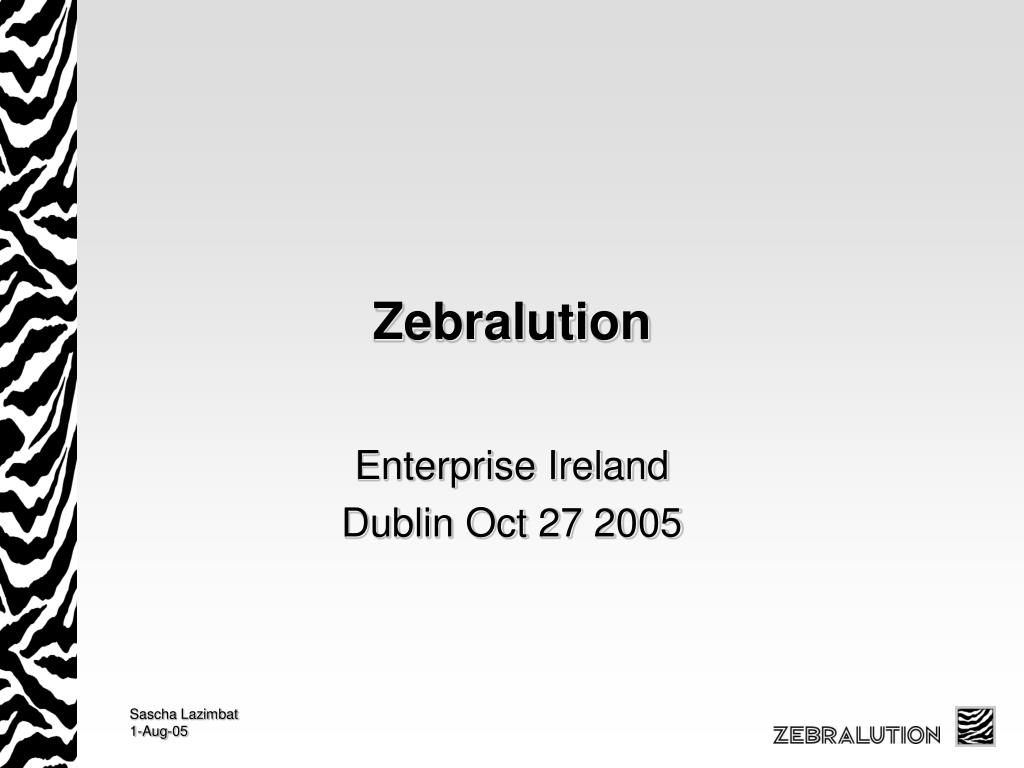 Zebralution