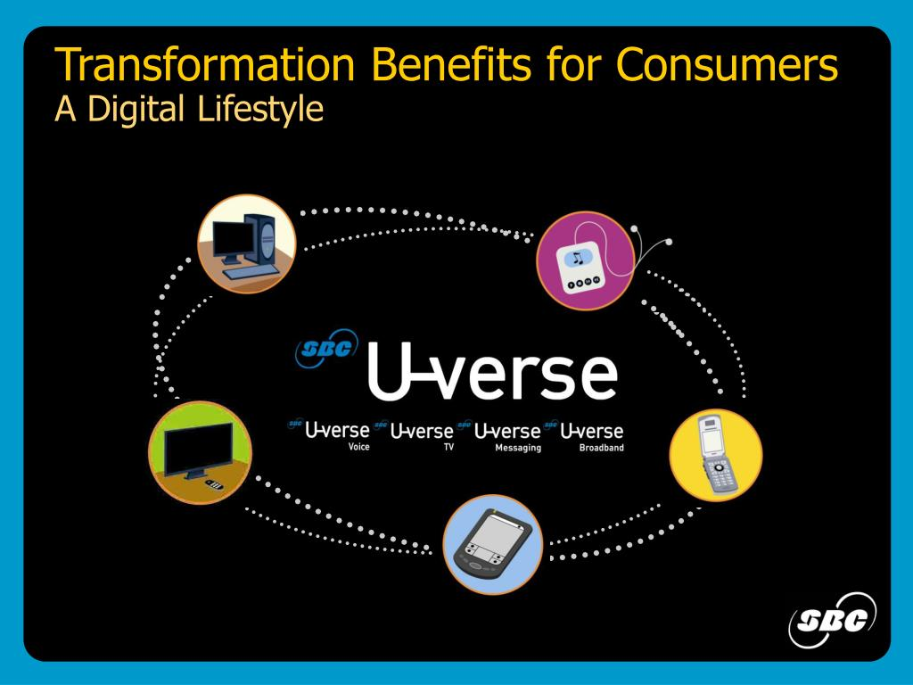 Transformation Benefits for Consumers