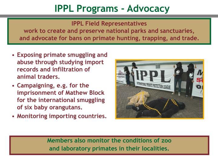 IPPL Field Representatives
