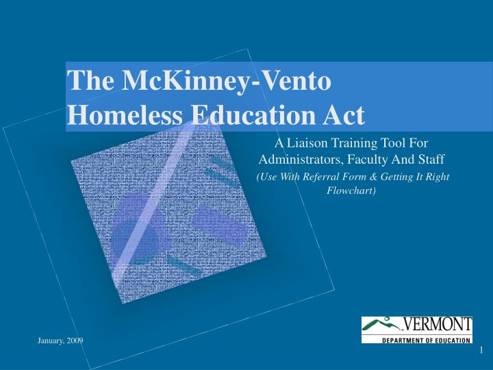 The McKinney-Vento
