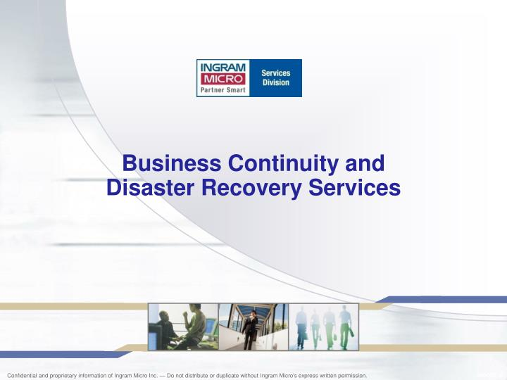 Business continuity and disaster recovery services l.jpg