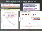 photoelectric cross section
