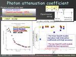 photon attenuation coefficient