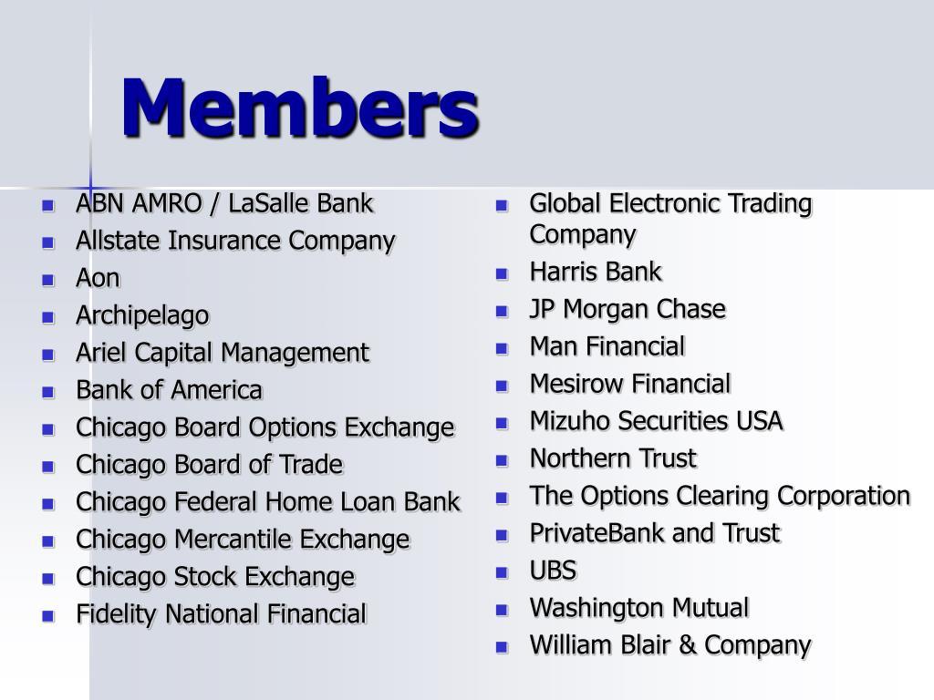 ABN AMRO / LaSalle Bank